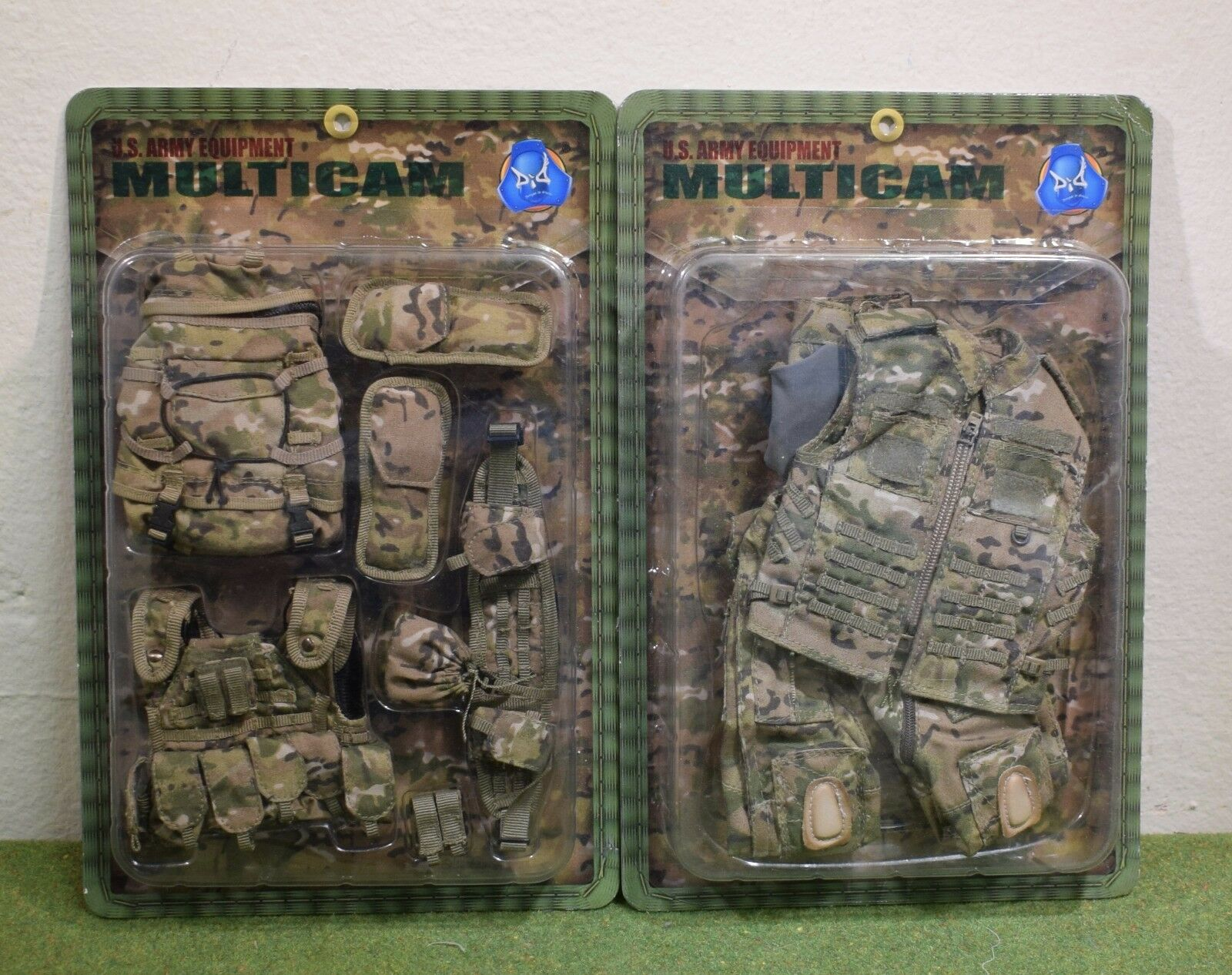 DRAGON DREAMS 1 6 MODERN US CARDED ARMY EQUIPMENT MULTICAM E60055 & E60056