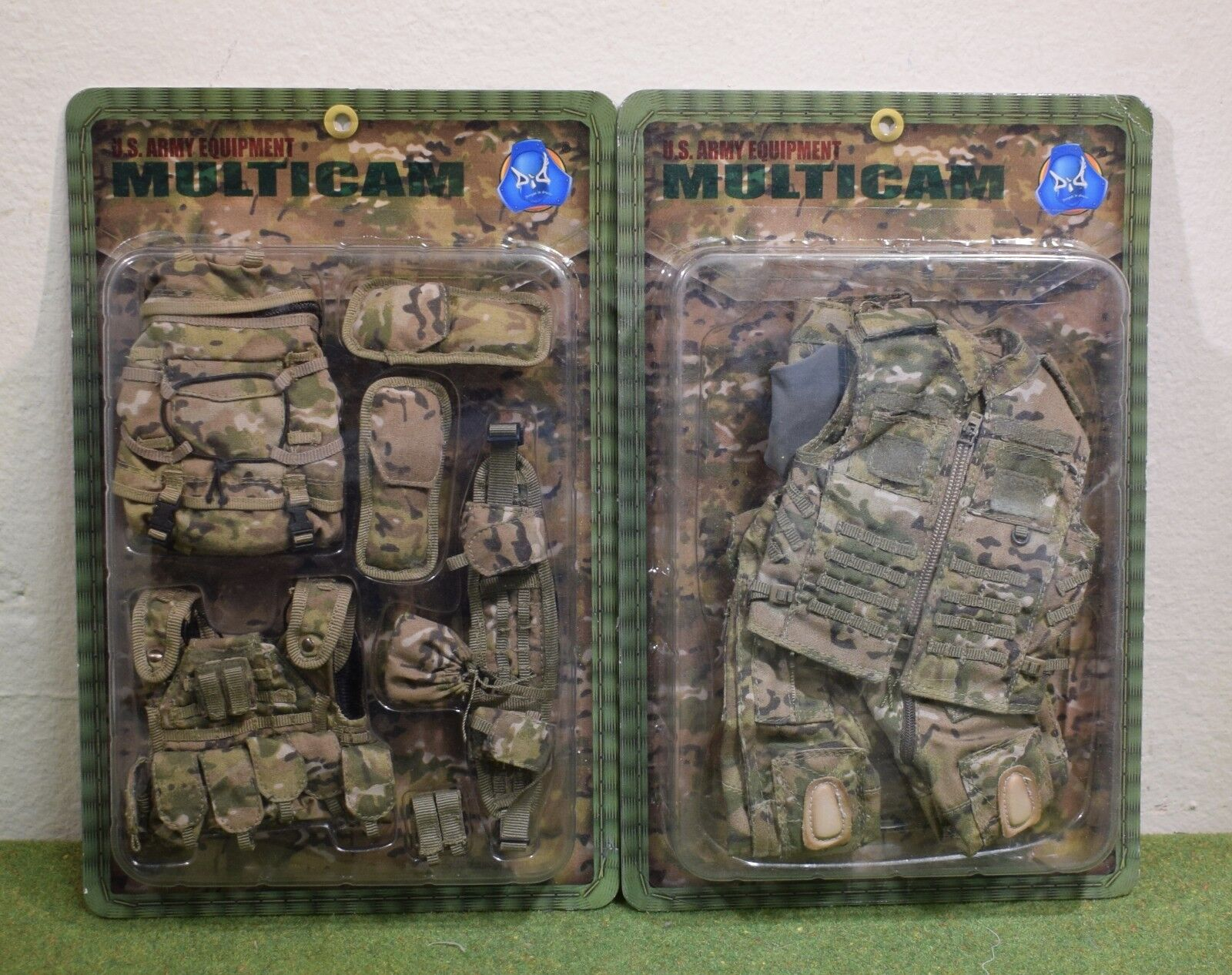 Dragon DREAMS 1 6 Modern US cardées ARMY EQUIPMENT Multicam E60055 & E60056