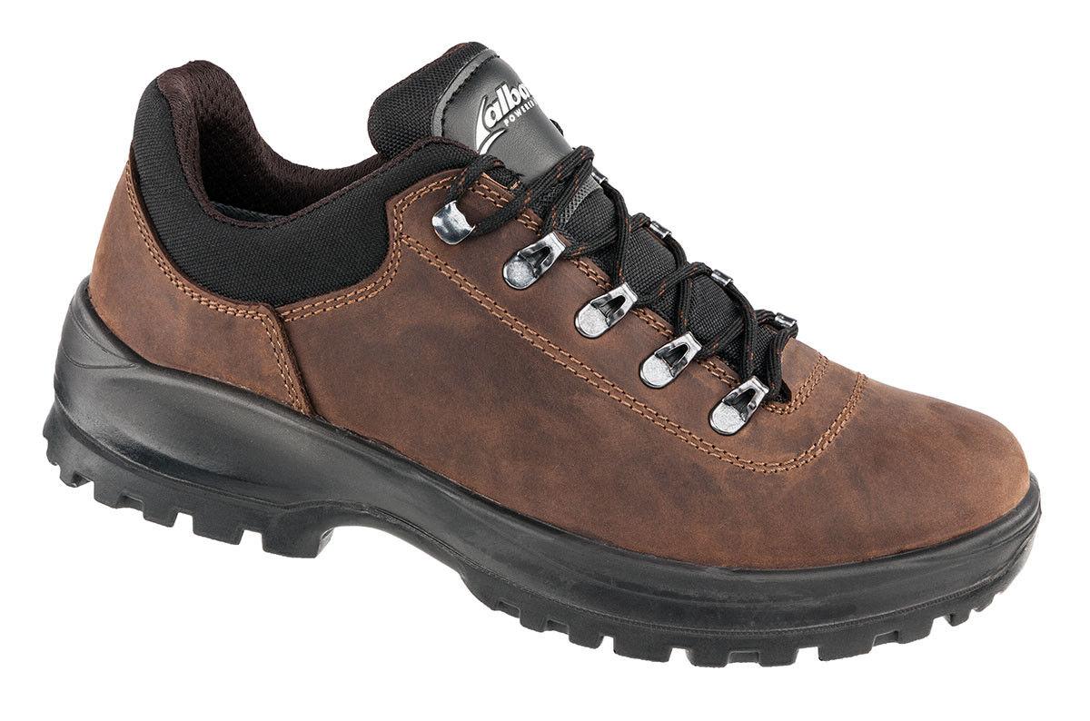 EIGER CTX LOW Trekkingschuh mit hochwertigem Fettleder in braun    | Garantiere Qualität und Quantität