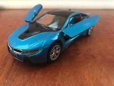 Bmw I8 Black Kinsmart 5379d 1 36 Scale Diecast Model Toy Car Ebay