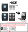 ON2E NICE ON1E ON4E Compatible remote control Rolling code 433.92MHz.
