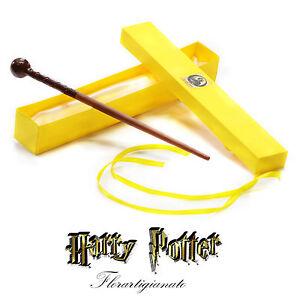 Bacchetta-Magica-di-Remus-Lupin-Harry-Potter-Ollivander-Nuova-by-Florartigianato