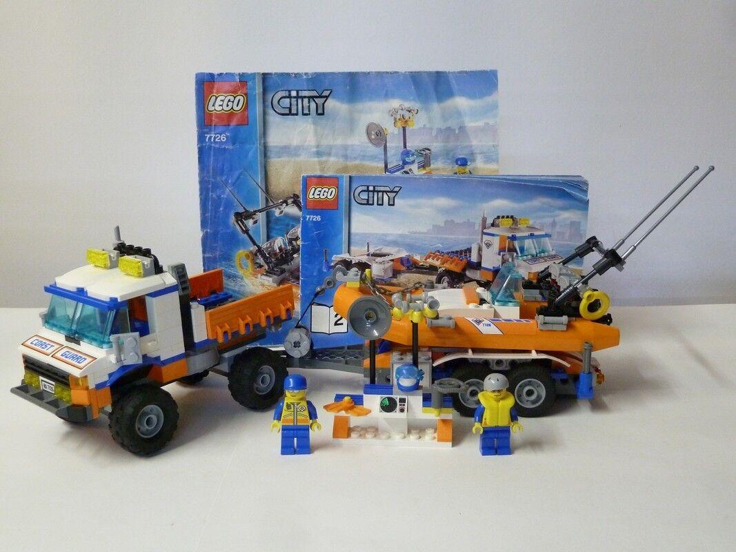 Lego  City (Loose) - 7226 - Coast Guarg Unimog