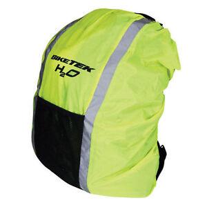 BikeTek-Waterproof-Hi-Vis-Rucksack-Cover-FREE-P-amp-P