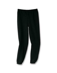 Hanes-Youth-Sweatpants-Boys-Kid-Girls-ComfortBlend-EcoSmart-Elastic-Cuffs-Sweats