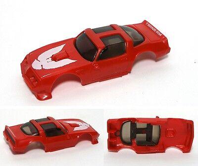 1980 Ideal Tcr Firebird Transam Red Slot Car Body 76-137