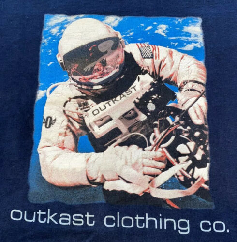 Outkast Clothing Company Spaceman T Shirt Tee XL V