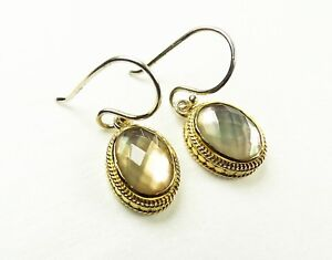 ANNA-BECK-200-Sterling-Silver-14K-Gold-Plated-Mother-of-Pearl-Dangle-Earrings