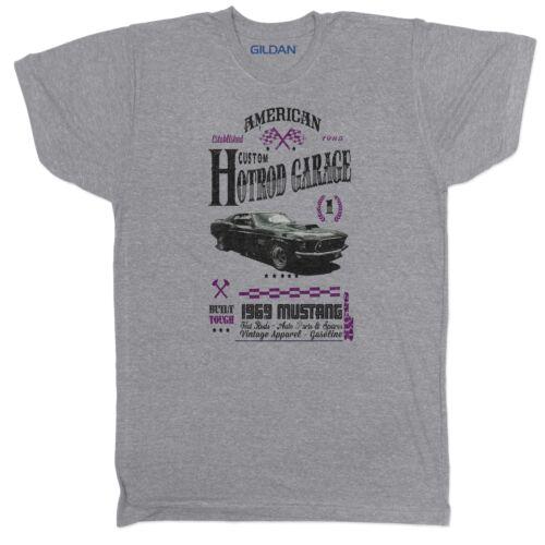 Hot Rod Retro Rally Racing 70s 80s Vintage Car Motorsport Logo GREY T Shirt