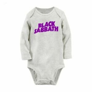 47bcd02729e Image is loading BLACK-SABBATH-Avengers-Newborn-Jumpsuit-Baby-Bodysuit-Long-