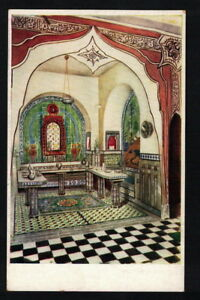 Details About Ae2108 Expo 1925 Art Deco Paris Pavillon Tunesia Diner Room By Valensi Postcar