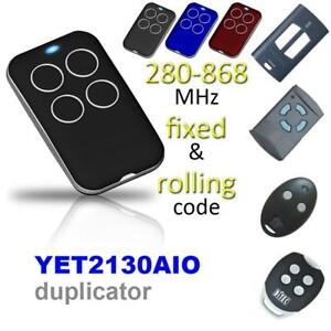 315 868mhz Multi Frequency Cloning Garage Gate Remote