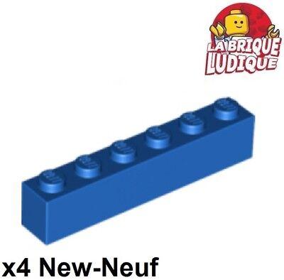 LEGO Lot of 12 Blue 1x6 Flat Building Plates