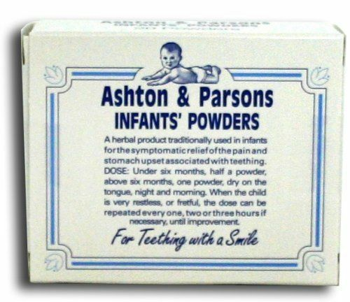 20 Sachets Available Multi-PACK Ashton /& Parsons Infant Powders For Teething