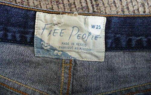 NWT Free People Cutoff Denim Shorts in Avi Blue