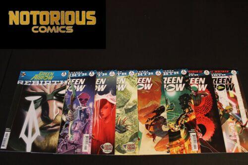Green Arrow Rebirth 1 2 3 4 5 6 7 Complete Comic Lot Run Set DC Collection