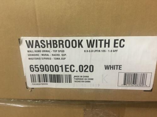 American Standard Wall Hung Urinal Washbrook 6590001EC.020 Ultra High Efficiency