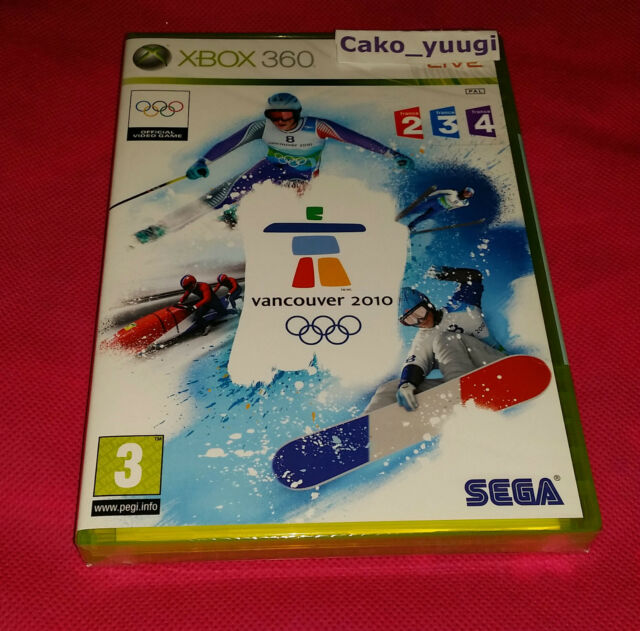 VANCOUVER 2010 XBOX 360 NEUF SOUS BLISTER VERSION 100% FRANCAISE