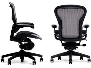 Image is loading 1-Herman-Miller-Basic-Height-Adjustable-Aeron-Home-  sc 1 st  eBay : aeron miller chair - Cheerinfomania.Com