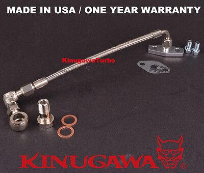 Kinugawa Turbo Oil Feed Line Kit Volvo740 760 940 w//Garrett T3T4 /& T03B T04B T04E