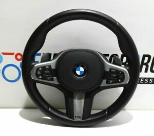 BMW-M-SPORTS-Volant-de-Direction-en-Cuir-Shift-Tapis-5-039-G30-G31-G38