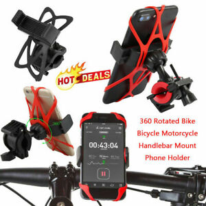 Cycle-Motorcycle-Bike-Bicycle-Mount-Holder-For-GPS-Cell-Phone-MTB-amp-A1J5