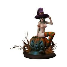 Kabuki Studio Helloween Girl Witch 54mm Model Unpainted resin kit