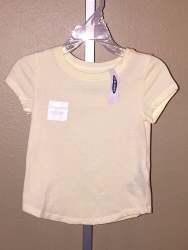 3T Size 2T 4T Girl/'s Old Navy Banana Smoothie Yellow Crewneck Shirt 5T
