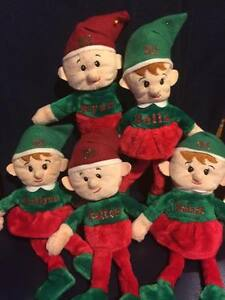 image is loading personalized elves elf plush stuffies christmas elf plush