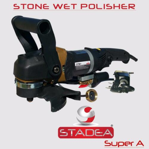 Stadea Concrete Countertop Grinder Polisher Wet Kit for Stone Concrete Polishing