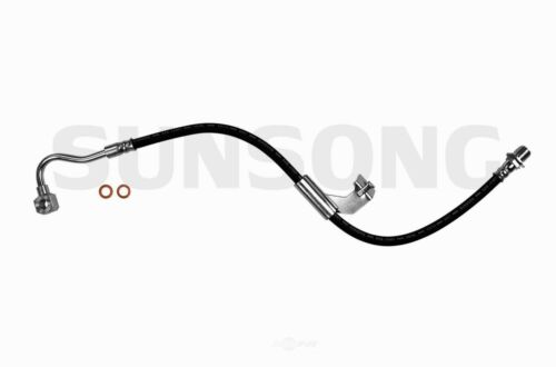 Brake Hydraulic Hose Front Left Sunsong North America 2201131