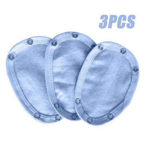 3PCS Komfortable neue Baby Body Pretty Weste Extender 100/% Baumwolle 13x9cm MG3D