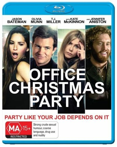 1 of 1 - Office Christmas Party (Blu-ray, 2017)