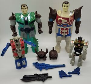 1988 Transformers G1 Pretenders Mixed Lot of Figures and Accessories! *Read*