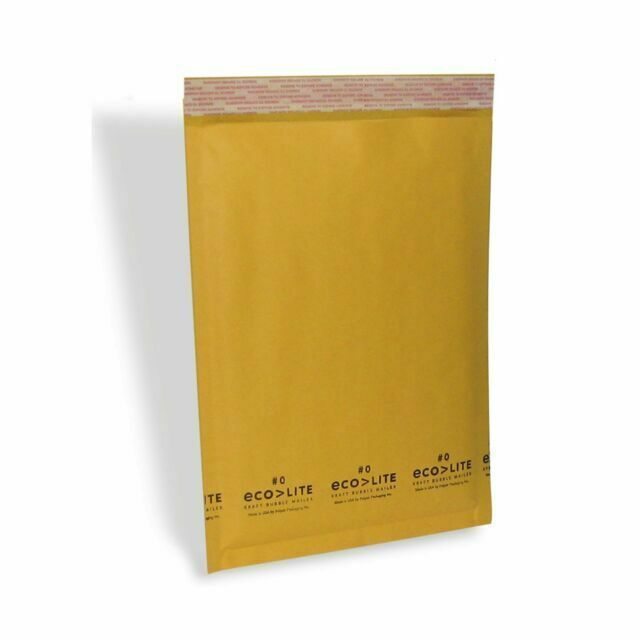 250 Pack for sale online Polyair Eco Lite 6.5x10 inch Bubble Mailer