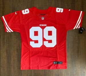 Details about Aldon Smith San Francisco 49ers Mens On Field Jersey Size 48 Free Ship (R)