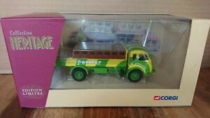 Corgi-71106-Saviem-Bransseur-PERRIER-Ltd-Edit-No-0004-of-3000