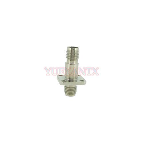 Optical Fiber Connector SMA905//SMA906 Female to Female Adapter Flange Coupling