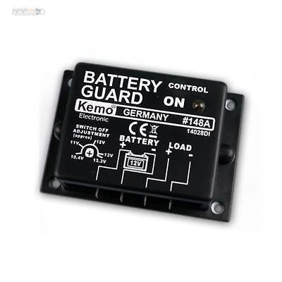 12 V Dc Max 20a Up-To-Date Styling Kemo M148a Batteriewächter / Akkuwächter / Tiefentladeschutz