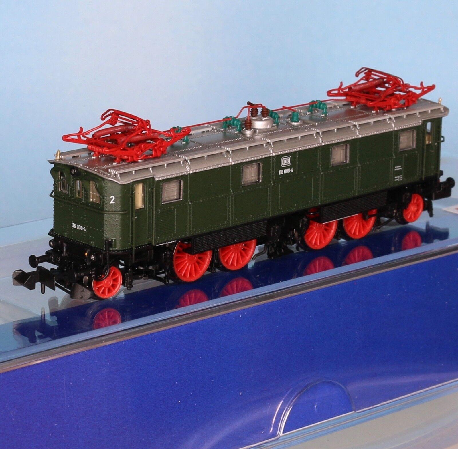 Piko 40350, pista n, e-Lok DB br 116 008-4, verde, época 4