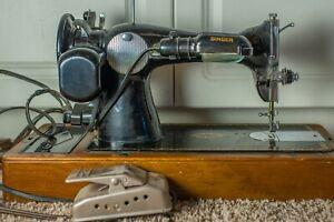 Singer-1951-WORKING-Antique-Sewing-Machine