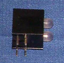 3mm Bi-Color Right Angle Housing with 2 LEDs Pack of 10
