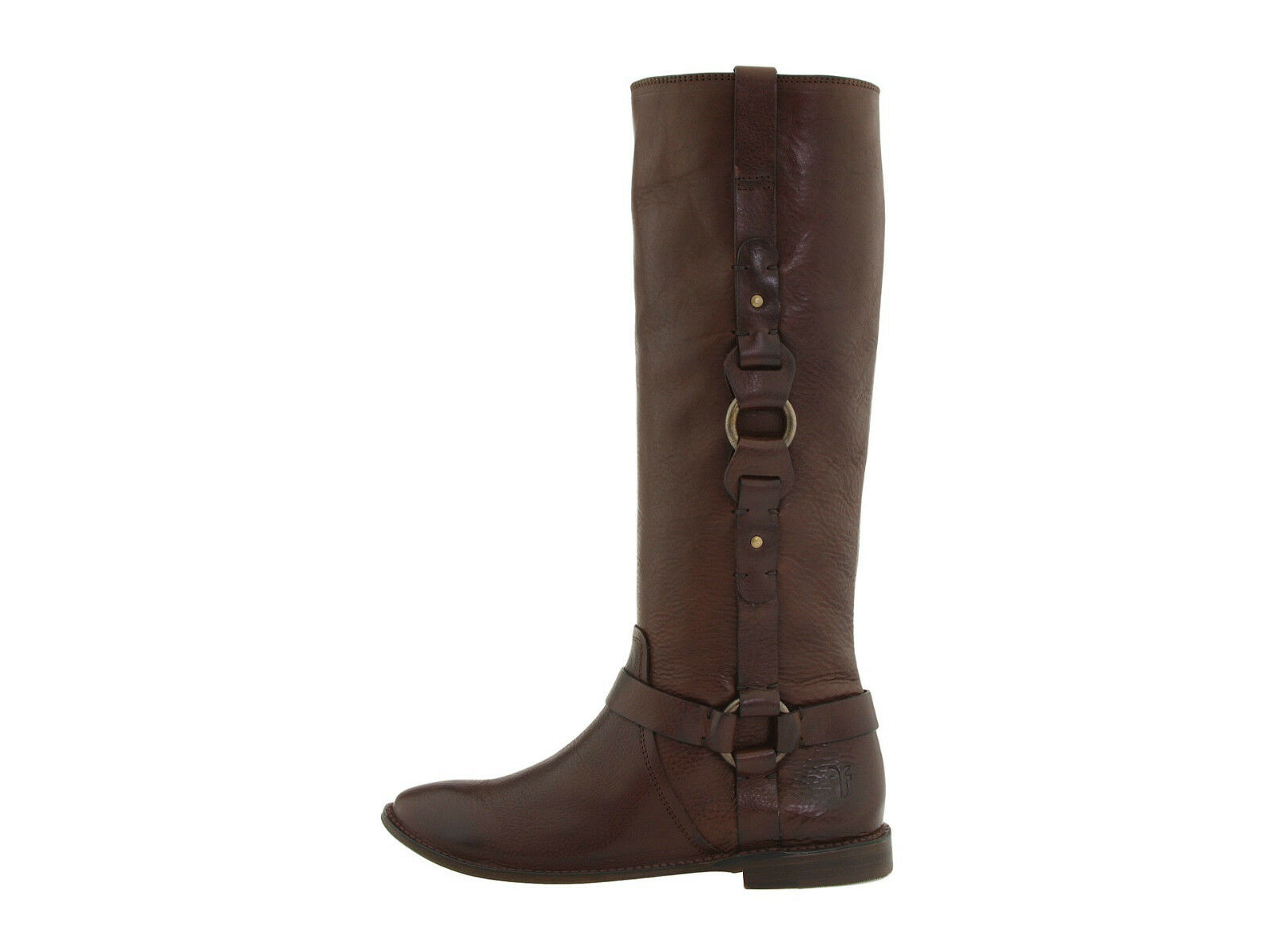 $398 Frye Paige Loop Braun  Leder Equestrian Pull 5.5 On Harness Riding Stiefel 5.5 Pull 796e21