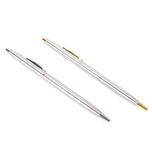 1 stück Metall Kugelschreiber Schreibwaren Edelstahl Stange DrehkugelschreiYEDE