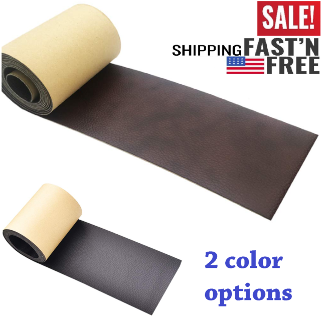 Onine Leather Repair Tape Patch Leather Adhesive for Sofas Car Seats Handbags,