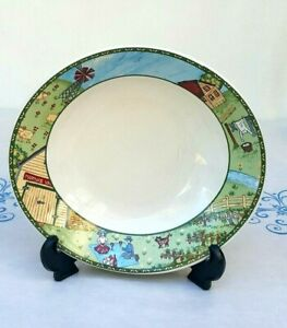 Carleen Gaby Stoneage Soup Salad Bowl Decorative Art Deco Marthas Vineyard Colle Ebay