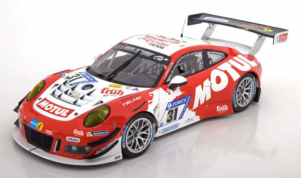 centro comercial de moda Minichamps Porsche 911 Gt3 R R R Frikadelli 24h Nurburgring 2017  31 1 18 ¡Nuevo   precio al por mayor