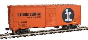 Walthers-HO-Scale-40-039-AAR-Modernized-1948-Boxcar-Illinois-Central-IC-400577