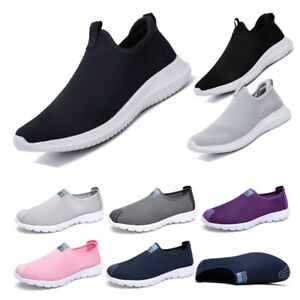 Sports Sneakers Running Shoes Mens Womens Trainers Fitness Walking Plus UK  3-13   eBay