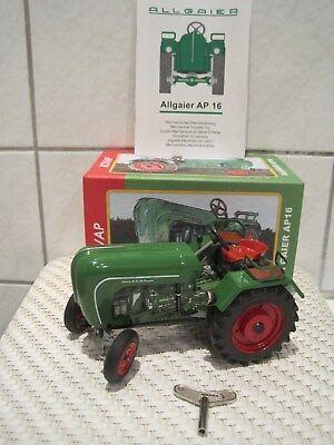 Rational Blechspielzeug Traktor Trecker Schlepper Allgaier Ap 16 *neu* M Funktion In Vielen Stilen Baufahrzeuge & Traktoren